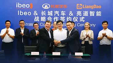 亮道智能-新闻中心-GWM cooperates with Ibeo and LiangDao for self-driving production vehicles